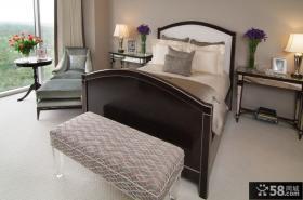 两室一厅装修效果图 现代风格卧室装饰