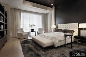 美式现代别墅卧室效果图片