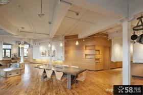 简约复式住宅设计餐厅图片