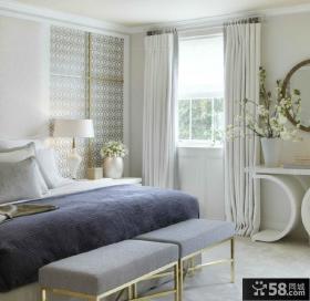 现代简约卧室两室两厅装修效果图片大全