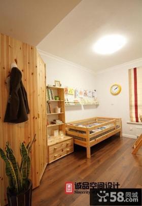 美式风格儿童房组合家具图片