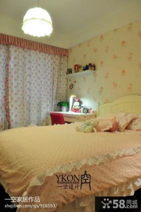 卧室床头壁纸背景墙装修效果图大全
