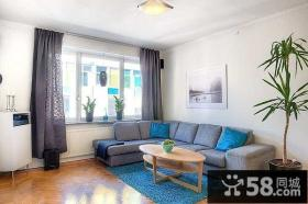 70平米小户型简约客厅装修效果图欣赏