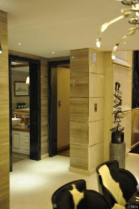 现代欧式风格卫生间玄关设计图片