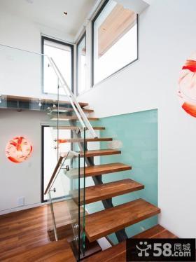 现代设计室内楼梯图片大全
