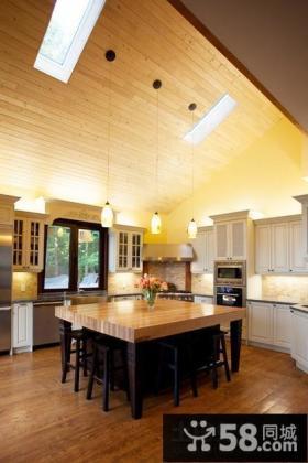 小复式楼厨房装修效果图大全2014图片