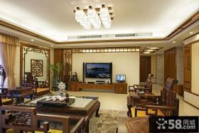 古典中式客厅设计