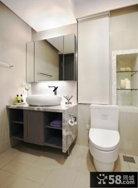 简约风格复式家居卫生间装饰效果图