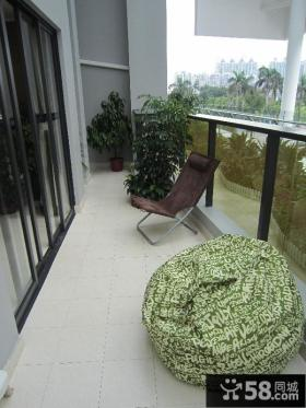 露天阳台设计装修效果图