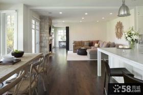 复式楼开放式厨房装修效果图大全2012图片