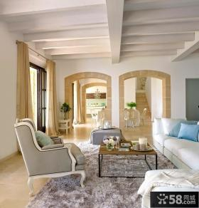别墅图片大全 欧式奢华的客厅装修效果图大全2014图片
