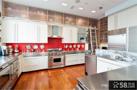 顶层复式装修效果图 复式楼厨房装修效果图