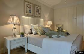 时尚美式风格家居卧室装修图片