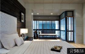 现代简约风格别墅卧室设计图