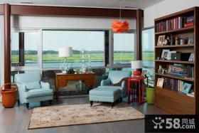 童话般的意境美式风格书房装修效果图大全2014图片