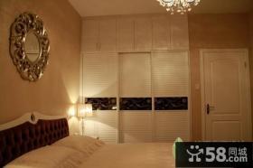 主卧室衣柜装修效果图图片
