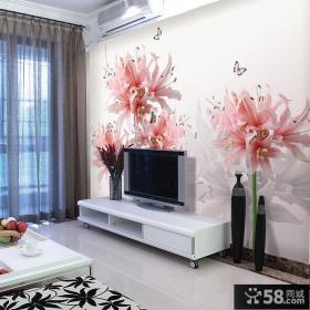 家装电视背景墙壁纸壁画