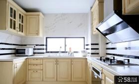 简欧U型厨房设计大全