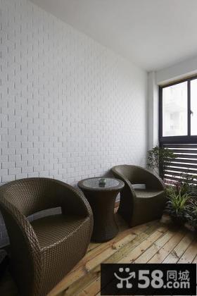 现代休闲创意阳台设计大全