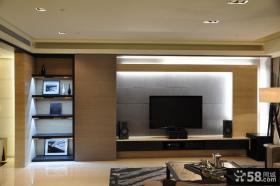 现代装修设计风格两室两厅设计图