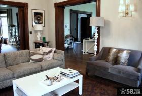 两室两厅装修效果图 90平米客厅装修效果图