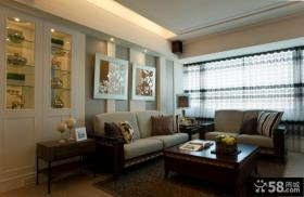 休闲美式四居室装修效果图