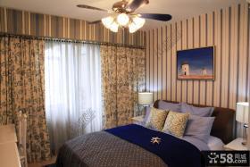 田园地中海风格复式客厅装修效果图