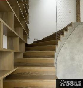 现代阁楼楼梯装修效果图