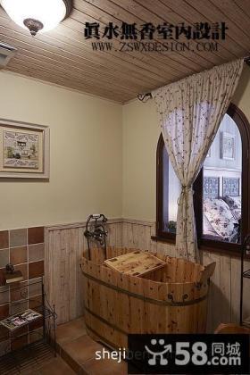 复式楼家庭室内卫生间修效果图片