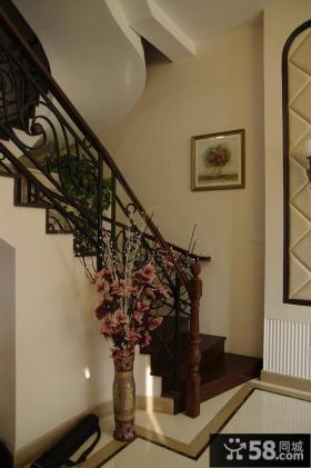 新古典风格复式楼室内装修效果图