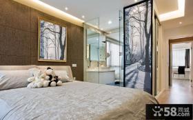 现代摩登卧室布置