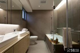 现代时尚装修风格卫生间设计