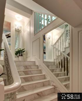 欧式风格室内楼梯装修效果图欣赏