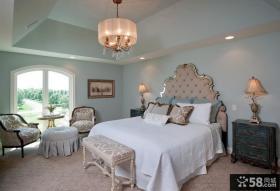 美式乡村风格别墅卧室图片
