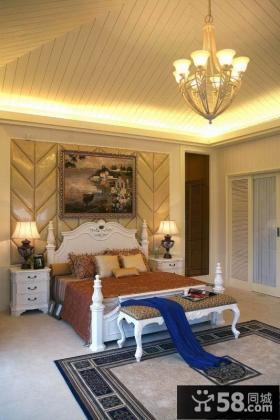 新古典风格卧室吊顶效果图欣赏