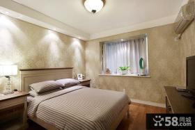 简约地中海风格别墅卧室设计效果图