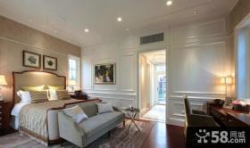 优质欧式样板房卧室装修效果图