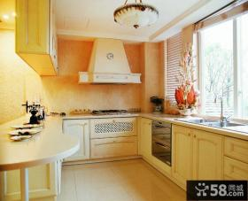 U型整体厨房橱柜效果图