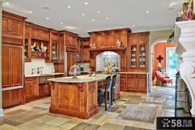 开放式厨房装修图片
