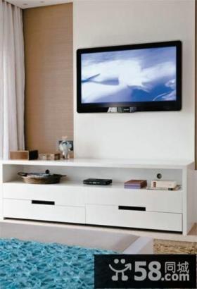 简约室内优质电视背景墙图