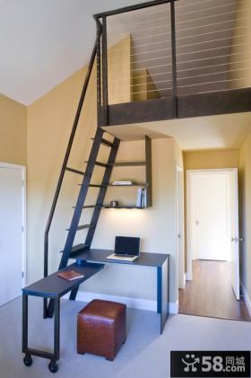 室内阁楼楼梯装修效果图大全2013图片