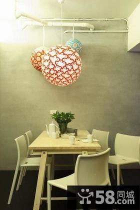 现代简约风格餐厅装修设计图片欣赏