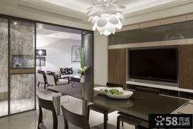 优质现代风格二室一厅室内设计图片