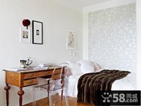 简单的装修完美的装饰简约卧室装修效果图
