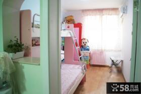 8平米儿童房上下铺装修图片