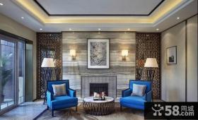 客厅沙发背景墙面装修