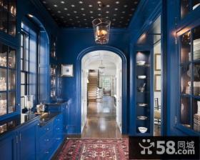 12万打造绝美地中海风格厨房装修效果图大全2014图片