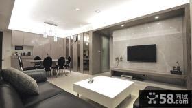 2014现代简约风格室内装修效果图片大全