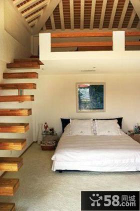 卧室阁楼楼梯装修