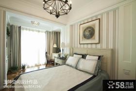 卧室床头装饰画设计效果图